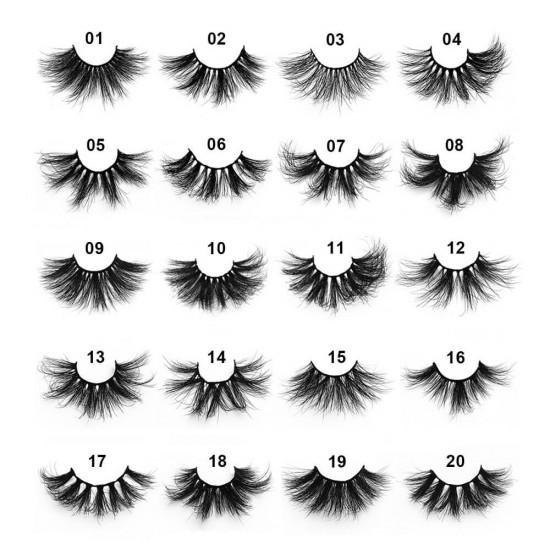 5D 25mm Mink Eyelash Wholesale