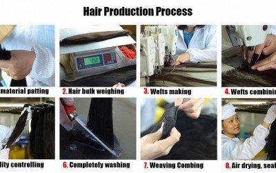 Hair Production Process