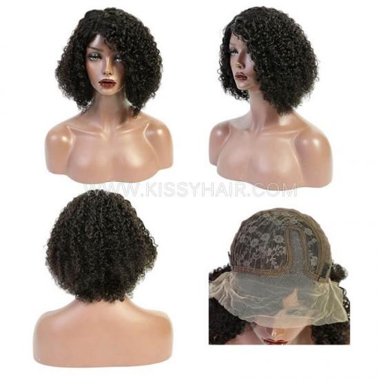 T-part Lace Bob Wig Jerry Curly Wholesale