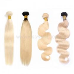9A Blonde #613 & #1B/613 Hair Weave