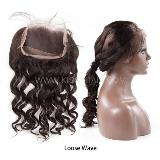 Affordable Virgin Remy 360 Lace Frontal Wholesale